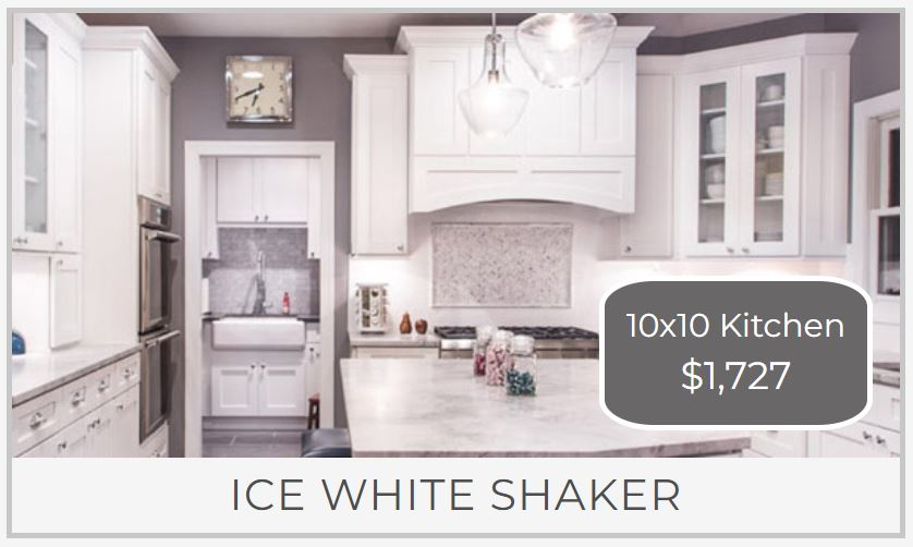 10x10 Kitchen Cabinet Price