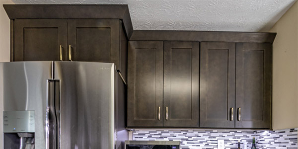 Lancaster Vintage Charcoal Cabinets & Vanities