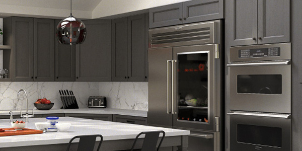 Townsquare Grey Cabinets & Vanities