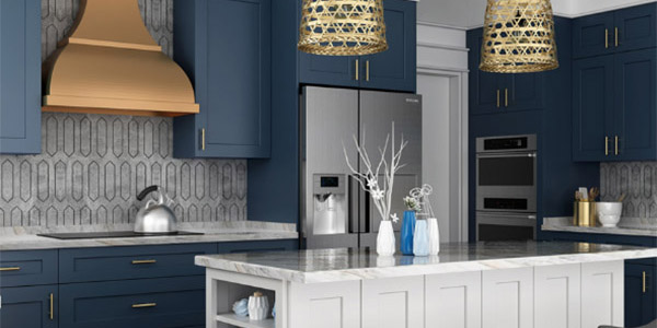 Imperial Blue Cabinets & Vanities