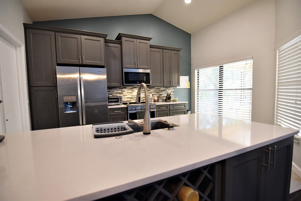 Midtown Grey Kitchen Cabinets