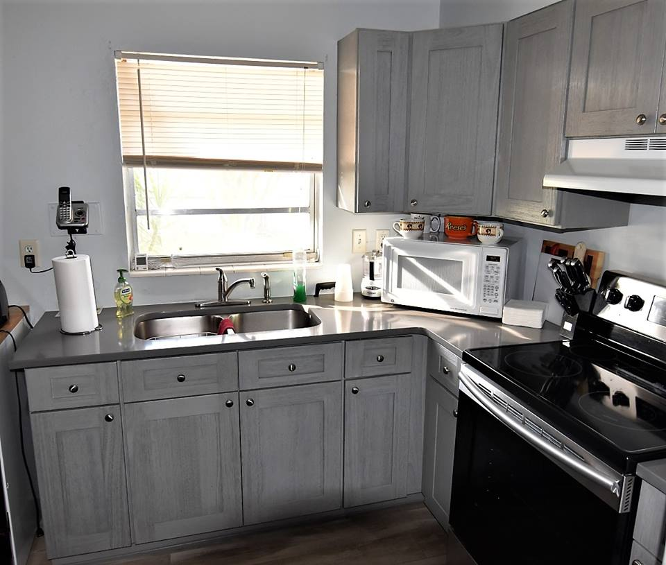 Nova Light Grey Shaker Kitchen Cabinets