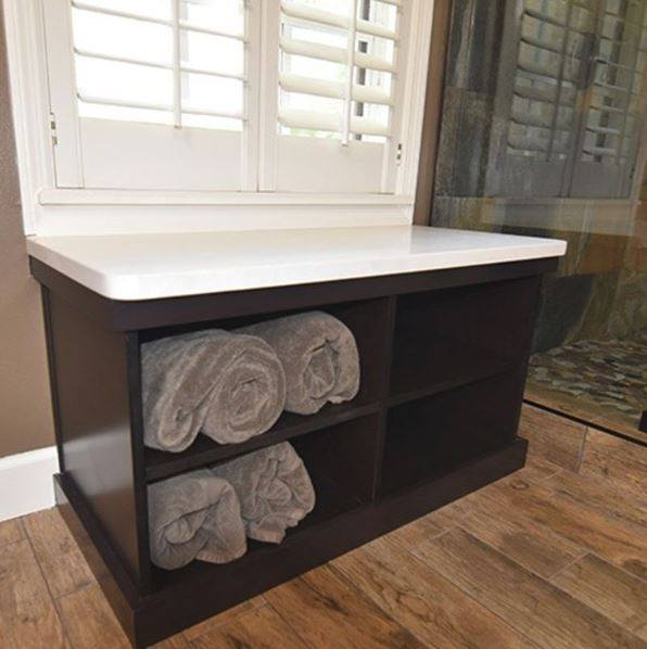 Custom Towel Storage