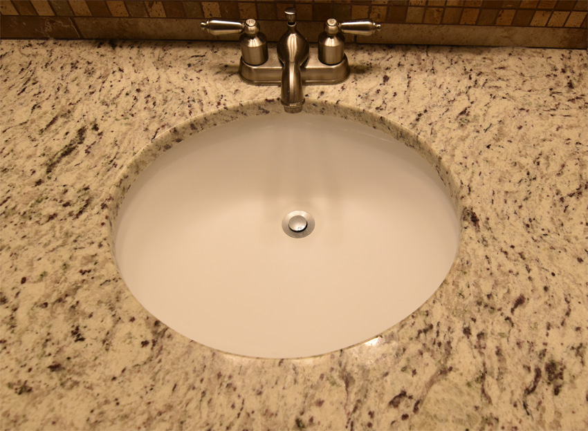 Undermount Oval Bath Sink