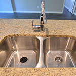 Undermount 50/50 Stainless Steel Kitchen Sink