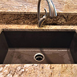 Undermount Single Bowl Composite Kitchen Sink